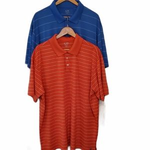 2 Men's C9 by Champion Duo Dry Polos XXL